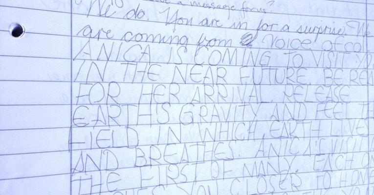 Col, Handwriting Example