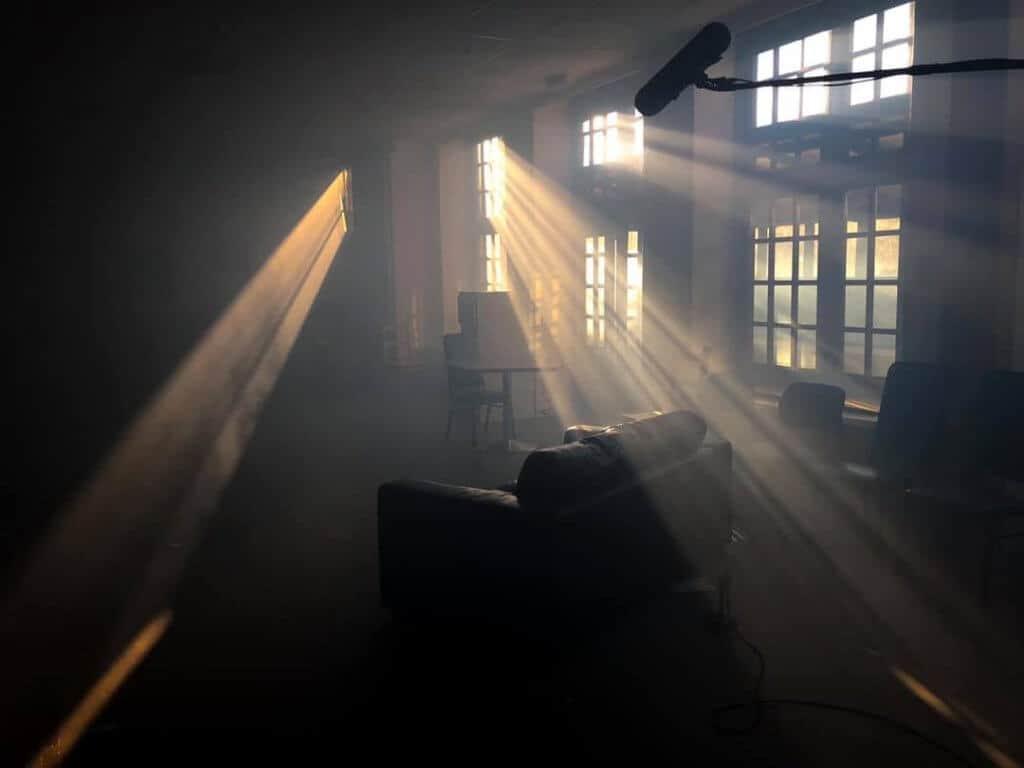 lightships filming set