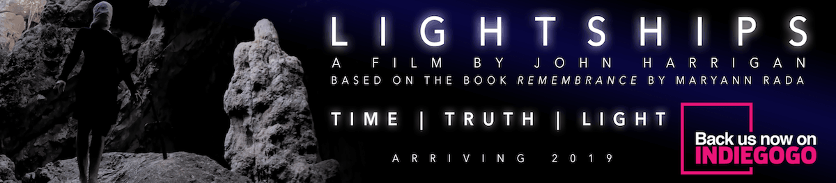 Pleiadian lightships film by John Harrigan nine's path indiegogo
