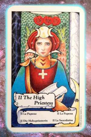 high priestess nine's path pleiadian tarot transformation