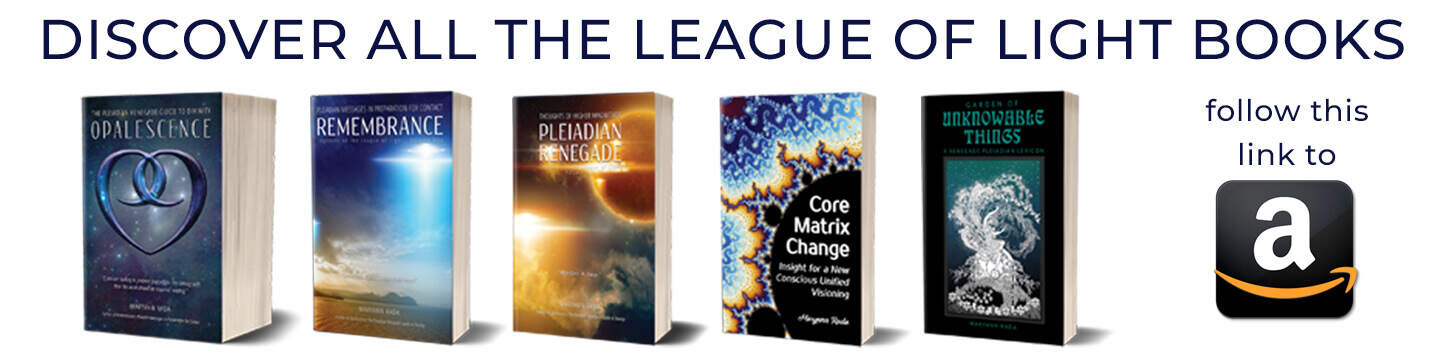 Buy Nine's Path League of Light Pleiadian books at Amazon
