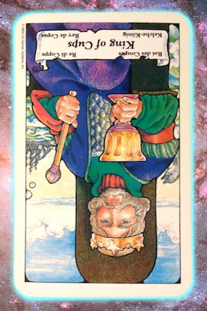 king of cups reversed Nine's Path Pleiadian tarot