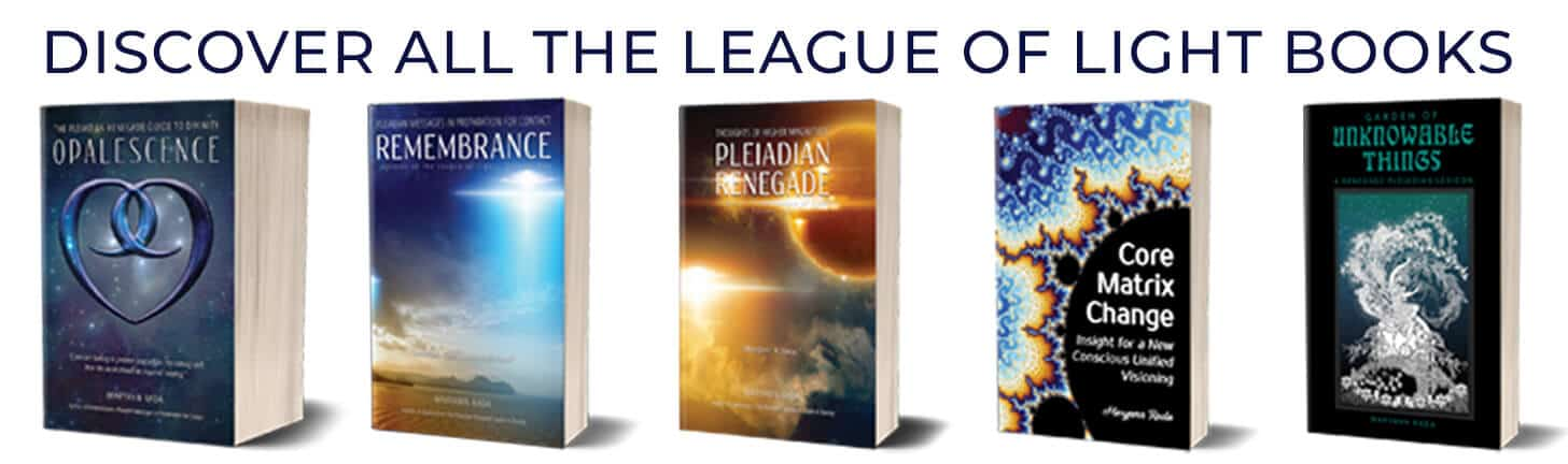League of Light Pleiadian books channeled messages