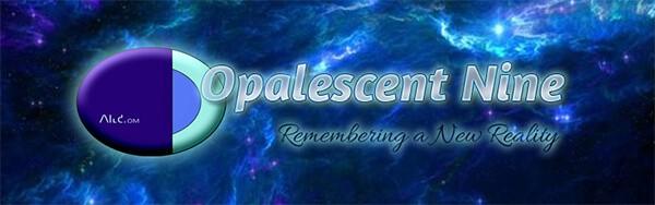 Opalescent Nine logo Nine's Path Pleiadian