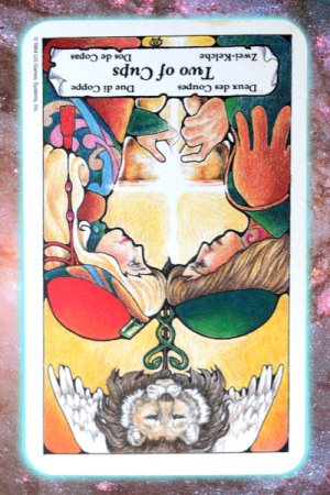 inner allegiance two of Cups reversed Nine's Path Pleiadian tarot