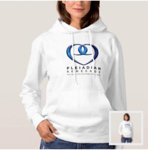 Pleiadian heart of nine hoodie