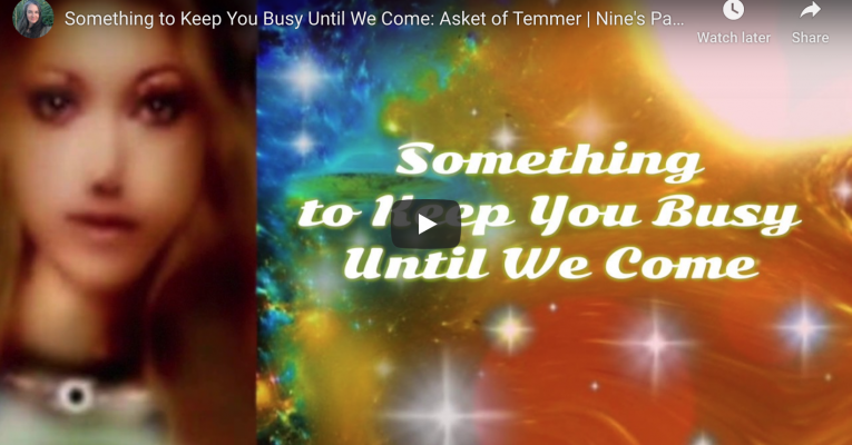 Something to Keep You Busy Until We Come: Video