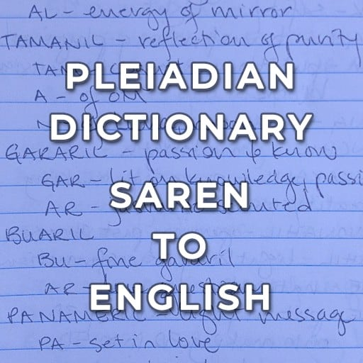 Pleiadian Saren-to-English