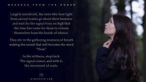 Nine's Path Order divine celestials