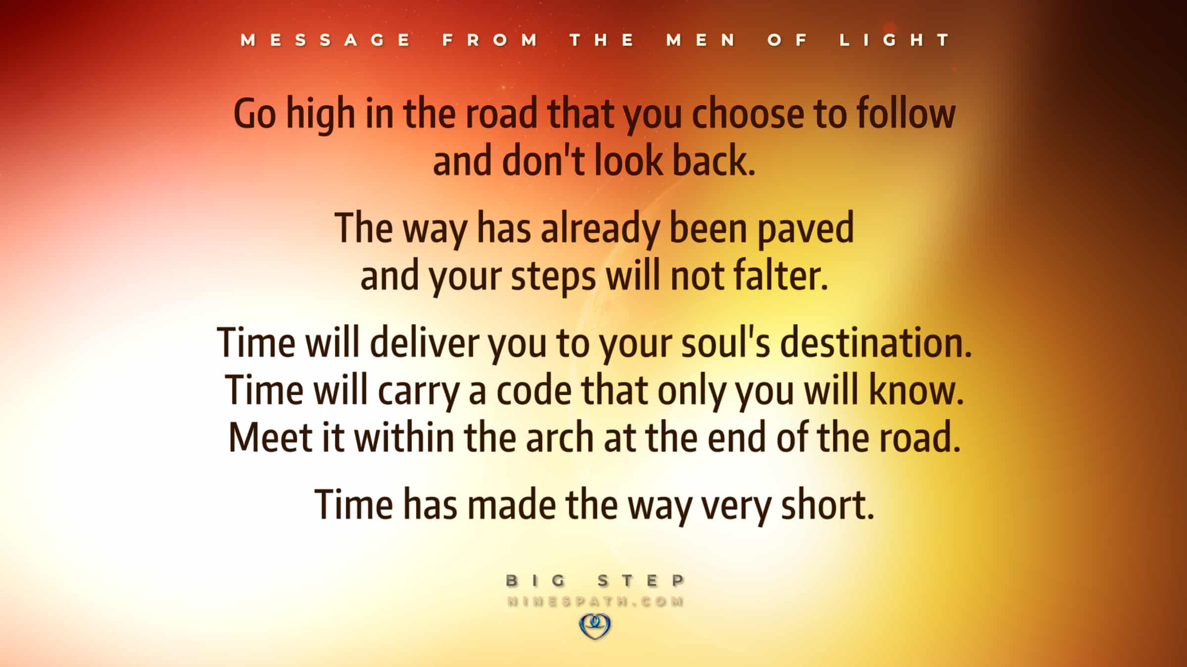 Nine's Path Men of Light