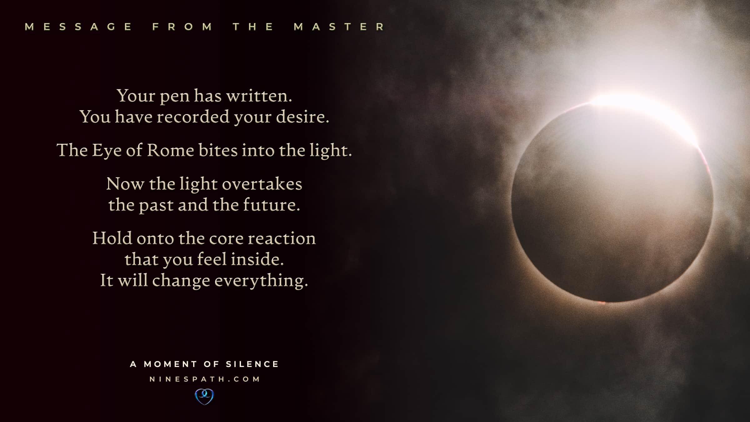 Nine's Path Order Master roses