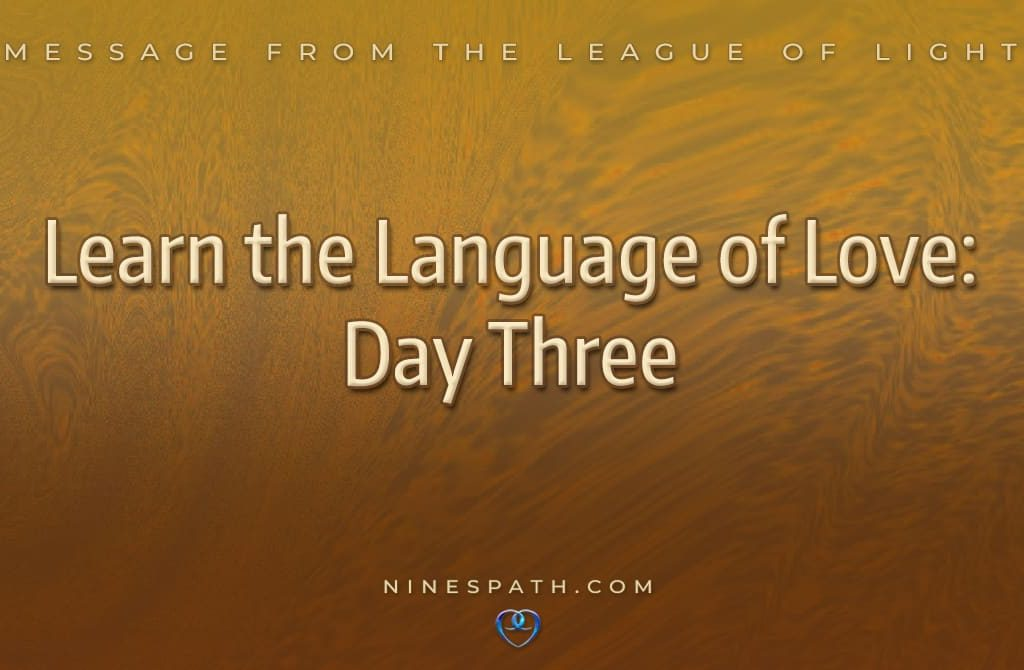 Learn the Language of Love: Day Three