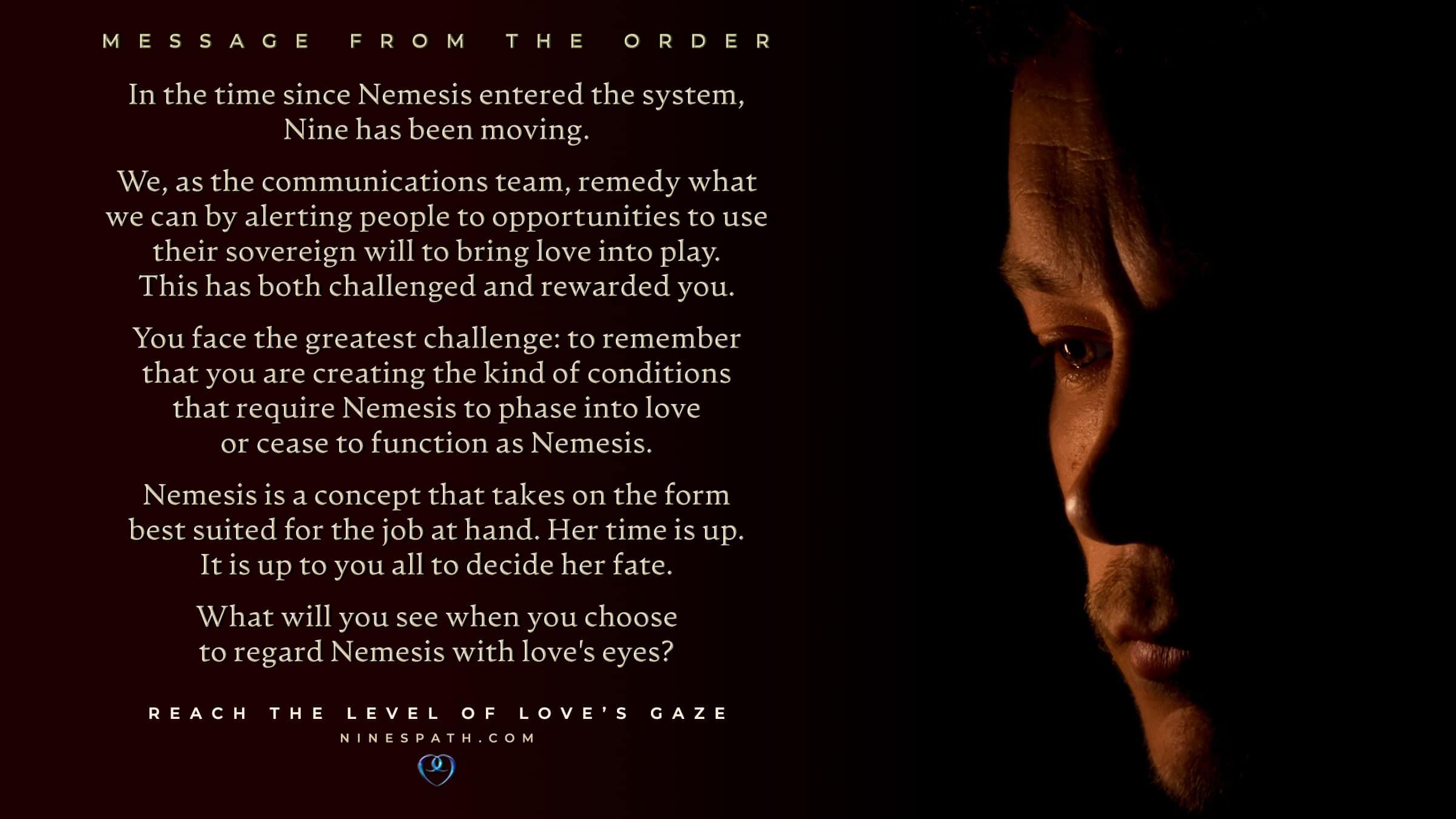 Nine's Path Order Master Nemesis